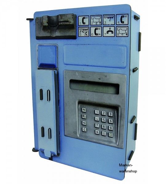 Werkhaus - Telefonladestation Blau PP5002 Telefonstation Ladestation
