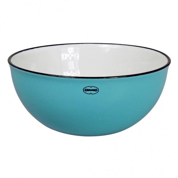 Cabanaz - Schüssel Schale Salatschüssel Salad Bowl blau 1201645