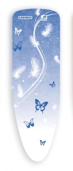 Leifheit - Bügelbezug Thermo Reflect Schmetterling Blau 112x34cm Bügelbrettbezug