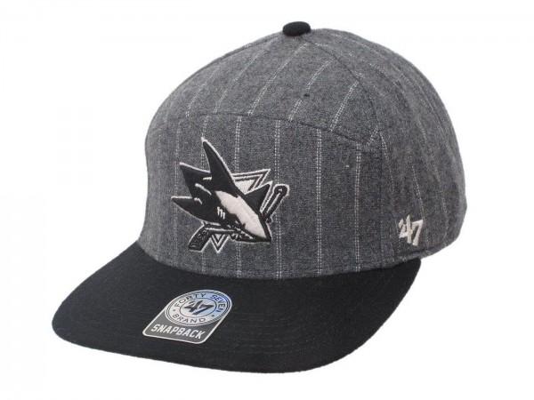 "47 Brand - NHL Cap Basecap Kappe Mütze Eishockey ""San Jose Sharks"" (Nr.77)"