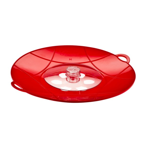 Genius - Flip Ø29 cm rot Pfannen Kochtopf Spritzschutz mikrowellengeeignet 15120