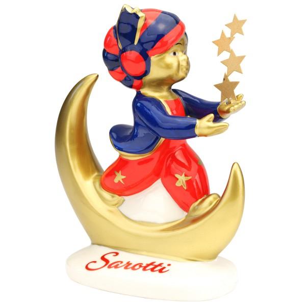 Reutter - Sarotti Magier Figur H16cm mit Sterne 3.020/0 Sarottifigur Werbefigur