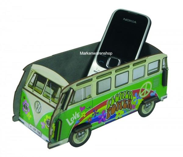 "Werkhaus - Minibox VW T1 Bus ""Bulli"" Hippie (WH3007) Box Utensilienbox Stiftebox"