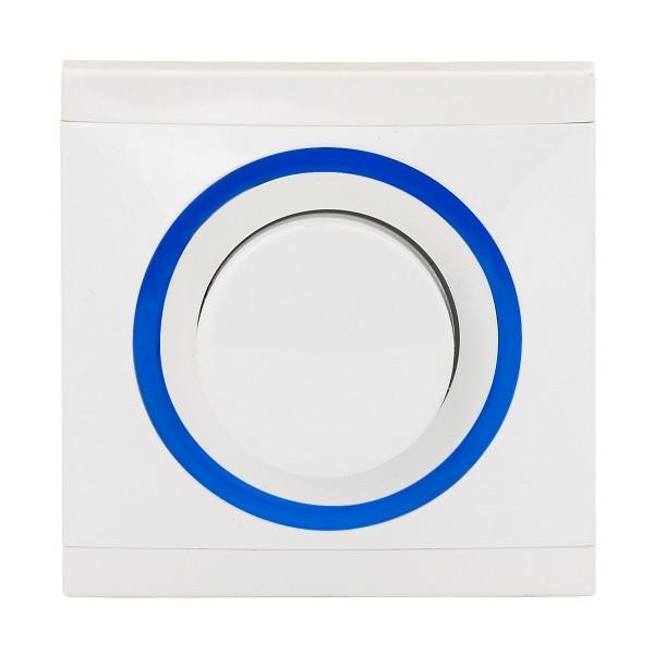 REV Ascoli weiß/blau Helligkeitsregler NV 500 VA 929104 Lichtschalter Dimmer