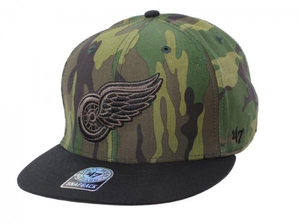 "47 Brand - NHL Cap Basecap Kappe Mütze Eishockey ""Detroit Red Wings"" (Nr. 49)"