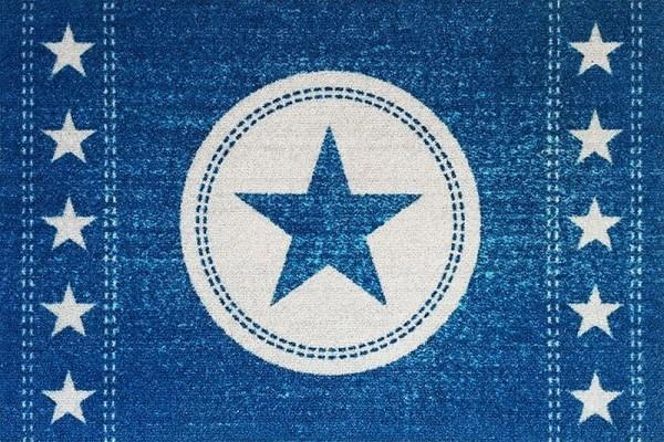 "Rockbites - Fußmatte ""Jeans Sterne - Blau"" Türmatte Fußabstreifer (100956) Nr.89"