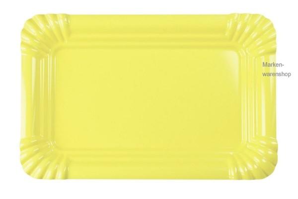 Contento - Picnic Fast Food Platte Gr. S gelb (656431) Grillteller Teller