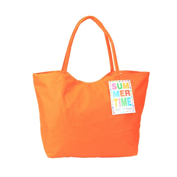 Antonio - XXL Strandtasche Summer-Time Orange Badetasche Tasche Nr. 37