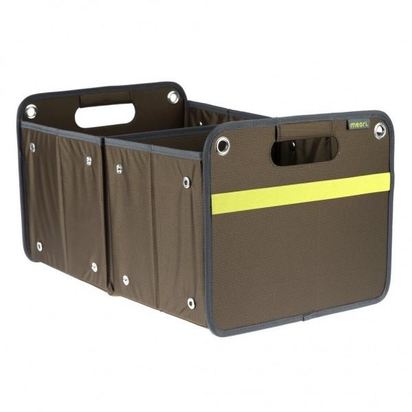 Meori - Faltbox Outdoor Aufbewahrungsbox Klappbox Erdbraun A100074