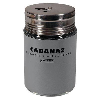 Cabanaz - Gewürz- und Zuckerstreuer Streuer, Grau