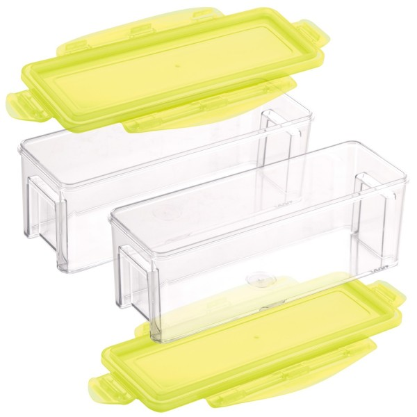 Genius - Nicer Dicer Magic Cube Gourmet Behälter Set 4-tlg. gelb 33839