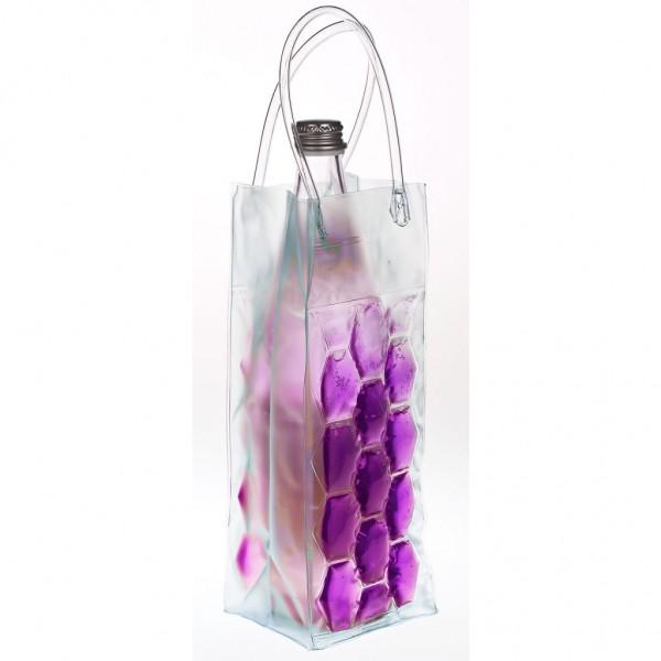 Genius - Flaschenkühler Sektkühler Weinkühler Kühltasche lila 15084
