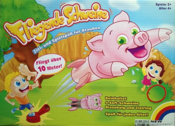 NEU OVP New Entertainment - Fliegende Schweine Kinderspiel Spiel