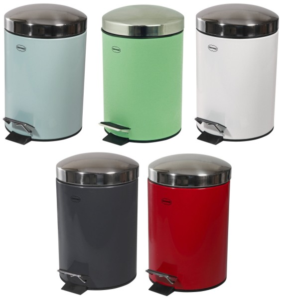 Auswahl - Cabanaz Abfalleimer mit Pedal Kosmetikeimer 3L Farbauswahl