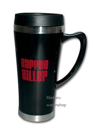 "Trend Import - Thermobecher Isolierbecher Bürotasse ""Kaffee Killer"""