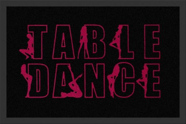 "Rockbites - Fußmatte ""Table Dance"" Türmatte Fußabstreifer 60 (100780)"