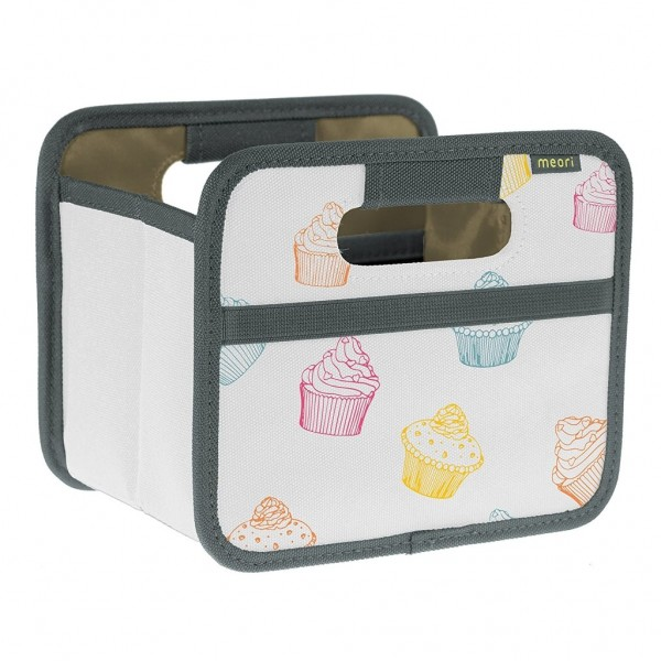 Meori - Faltbox Mini Aufbewahrungsbox Klappbox Cupcake A100310