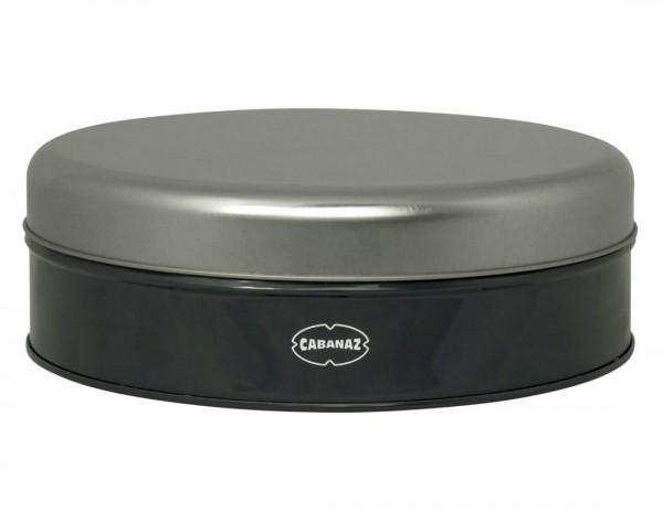 Cabanaz - Cookie Box Grau 1201093 Ø 20,5cm Gebäckdose Keksdose Dose Vorratsdose
