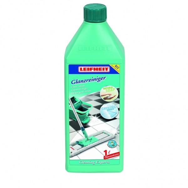 Leifheit - Glanzreiniger Set, Reinigungsmittel 2 x 1 Liter (EURO 8,48/L)