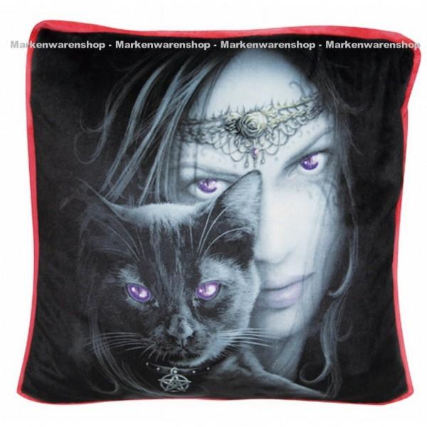 Spiral Kissen 42x42 Cats Eyes, Dekokissen 10504900