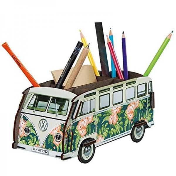 Werkhaus - Stiftebox VW T1 Bus Bulli Hawaii (WE2083) Stifteköcher Stiftehalter