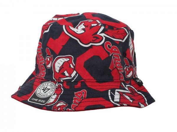 "47 Brand - MLB Mütze Basecap Kappe Cap Baseball ""Cleveland Indians"" (Nr. 94)"