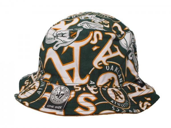 """47 Brand - MLB Mütze Basecap Kappe Cap Baseball """"Oakland Athletics"""" (Nr. 97)"""