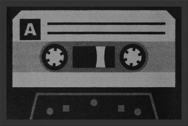 """Rockbites - Fußmatte """"Tape"""" Türmatte Fußabstreifer Schmutzmatte 13 (100788)"""