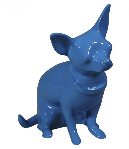 Cabanaz The Zoo - Spardose Hund Chihuahua Blau (1101122) Sparbüchse Sparschwein