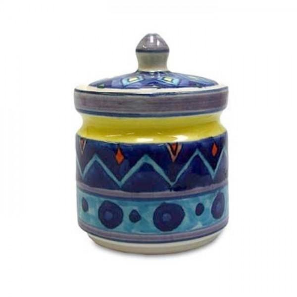 Gall und Zick - Zuckerdose Keramik (GZ-2751B) Marmelade Honig Töpfchen Colorado