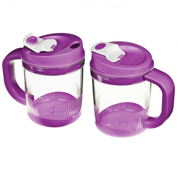 Genius - Twist N Joy Behälterset Auffangbehälter Trinkbecher 4-tlg. lila 29110
