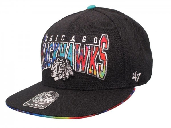"47 Brand - NHL Cap Basecap Kappe Mütze Eishockey ""Chicago Blackhawks"" (Nr. 100)"