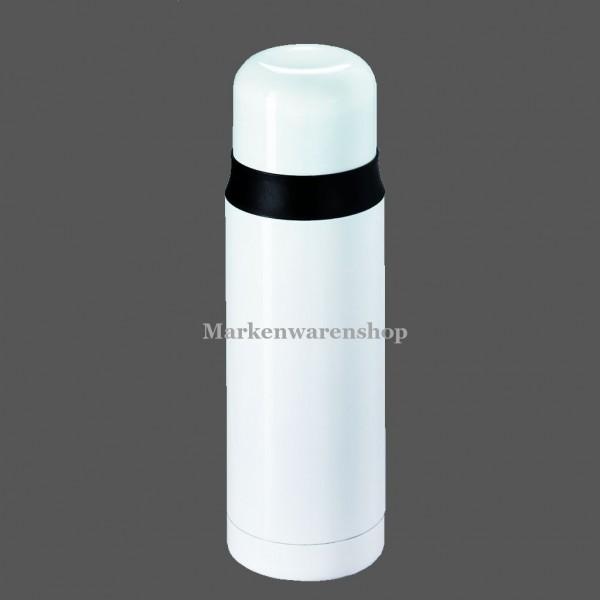 Leifheit - Isolierflasche,Thermosflasche Coco 0,7L weiß