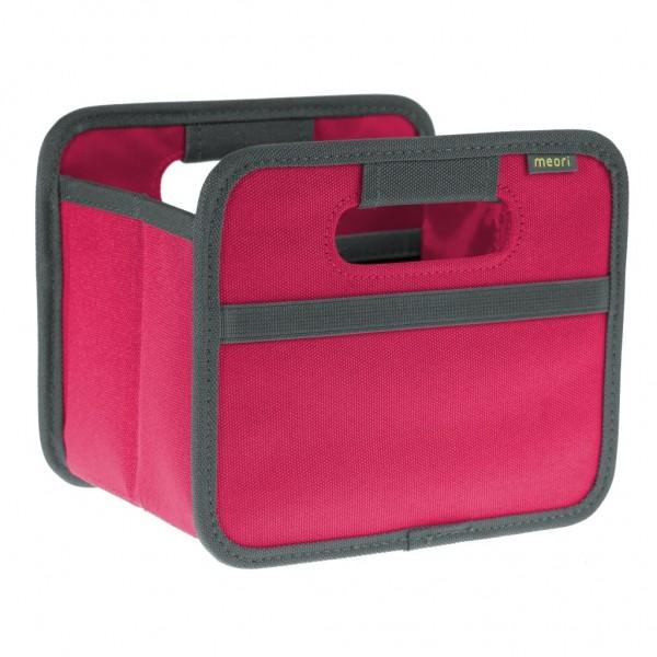 Meori - Faltbox Mini Aufbewahrungsbox Klappbox Berry Pink A100209