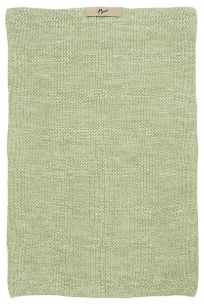 Ib Laursen - Handtuch Mynte Grün Melange Strick (6355-42) Küchentuch Küche