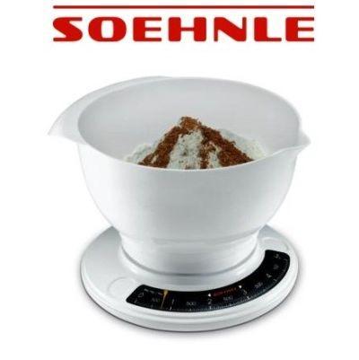 Soehnle 65054 Küchenwaage Waage analog Culina Pro weiß 65054