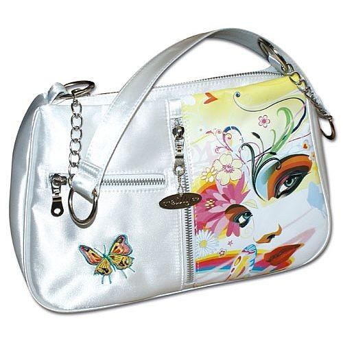Reilly - Handtasche Umhängetasche Tasche weiß 10400300