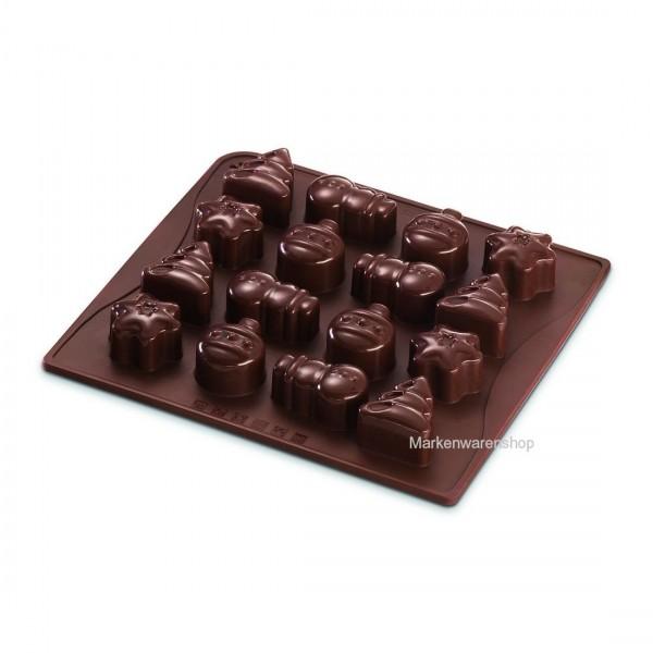 Dr. Oetker Pralinenform Schokoladenform Silikonform Winterzeit Confiserie 02474