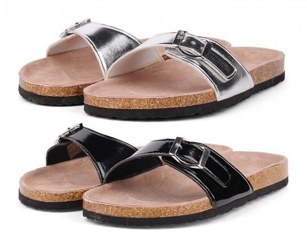 Pantoletten Sandalen Sandaletten MAUI Trendy Sommer Freizeit Schuhe Damen