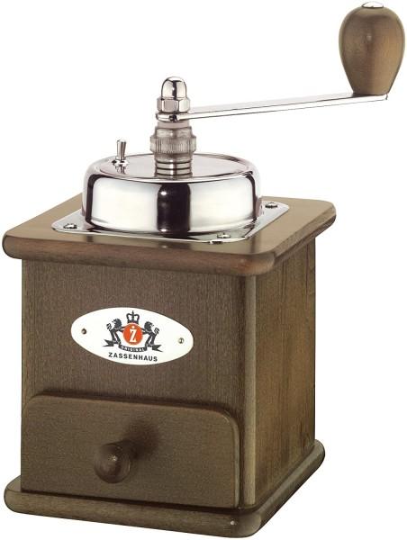 """Zassenhaus - Kaffeemühle """"Brasilia"""" dunkel gebeizt 040012 Hand - Espressomühle"""