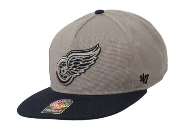 "47 Brand - NHL Cap Basecap Kappe Mütze Eishockey ""Detroit Red Wings"" (Nr. 54)"