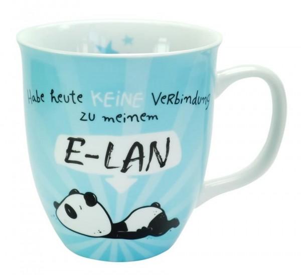 """Sheepworld - Tasse """"Heute kein E-LAN"""" 0,4l (45672) Geschenk- Büro- Kaffee- Tasse"""
