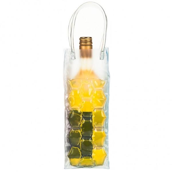 Genius - Flaschenkühler Sektkühler Weinkühler Kühltasche gelb 15083
