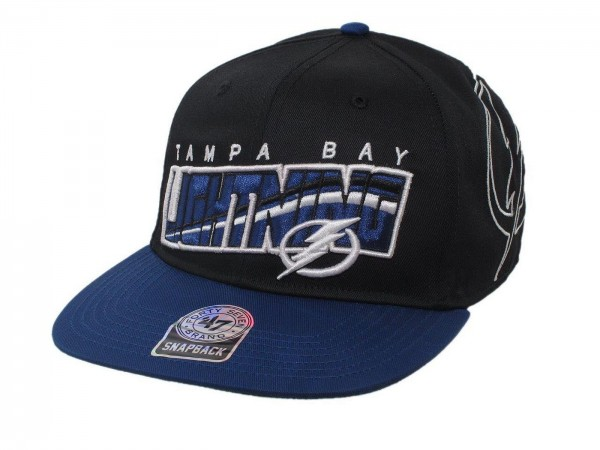 "47 Brand - NHL Cap Basecap Kappe Mütze Eishockey ""Tampa Bay"" (Nr. 89)"