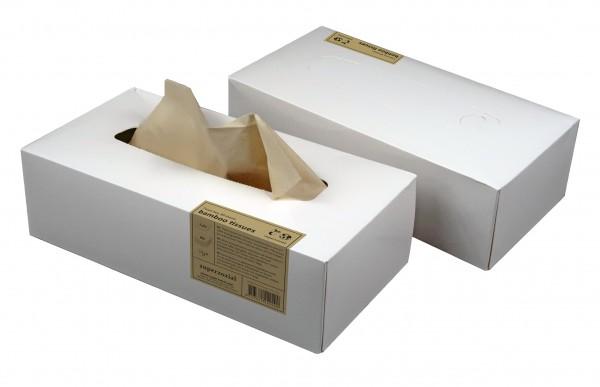 Zuperzozial - Nachfüllbox Bambus Kosmetiktücher Taschentücher 80 Blatt 1460300