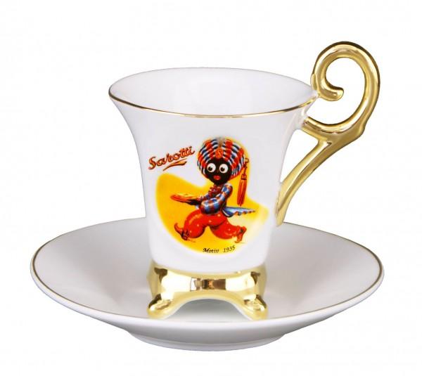 Sarotti Mokkatasse Espressotasse Royal Tasse 1935 Reutter Porzellan 89.052/0