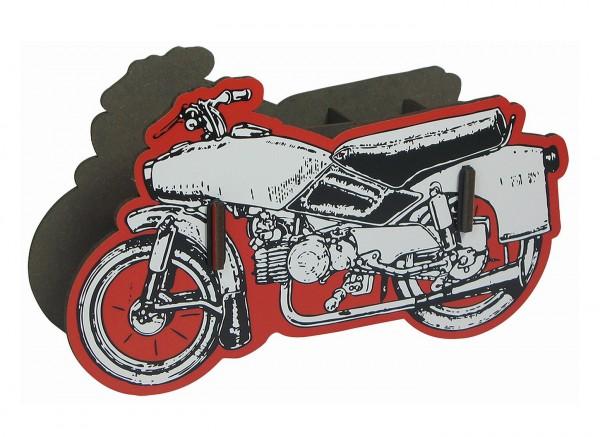 Werkhaus - Stiftebox Motorrad (PP3401) Zweirad Stifte- Köcher Halter Becher