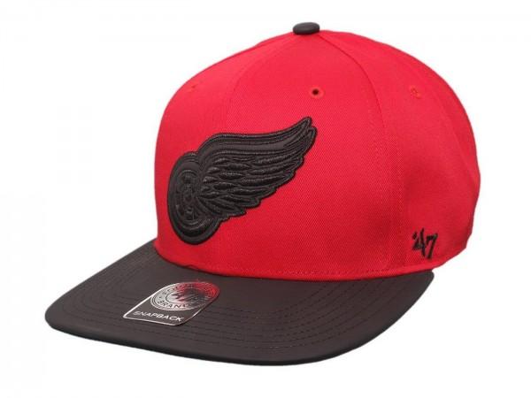 "47 Brand - NHL Cap Basecap Kappe Mütze Eishockey ""Detroit Red Wings"" (Nr. 104)"