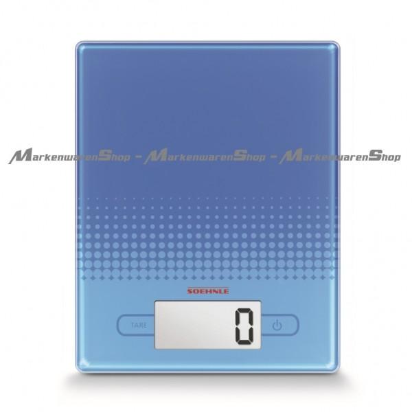 Soehnle Digitale Küchenwaage City Blue Limited Edition 66191