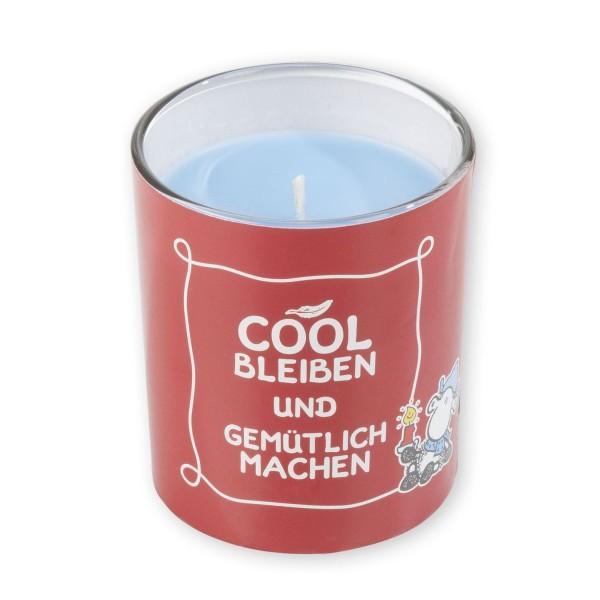 """Sheepworld - Duftkerze """"Cool bleiben gemütlich machen"""" 49468 Kerze Beeren - Duft"""